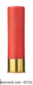 shotgun shells isolated on white background
