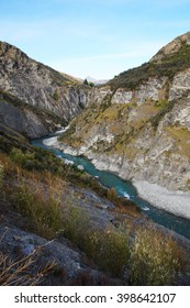 Shotover River at Skippers Canyon Road , Queenstown, New Zealand