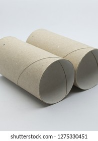 Shots to some carboard toilet paper rolls