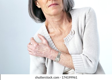 Shoulder Pain In An Elderly Person