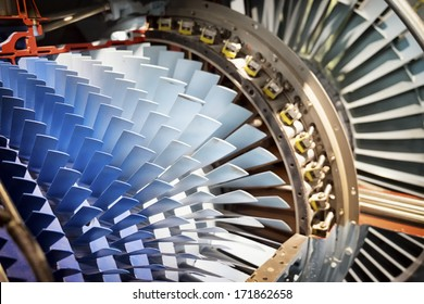 shovels of a turbine - nice background