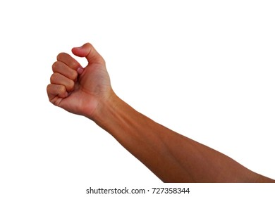 Show the arm of a healthy Asian man