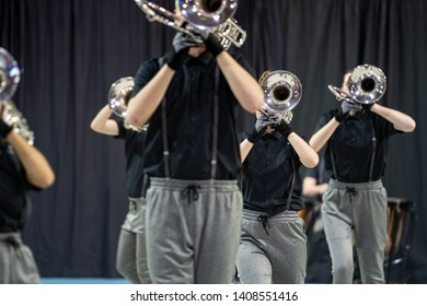 Show band or drum corps is a music corps that brings show elements alongside music. In addition to field shows, some show bands also have street shows where marching through the street is interspersed