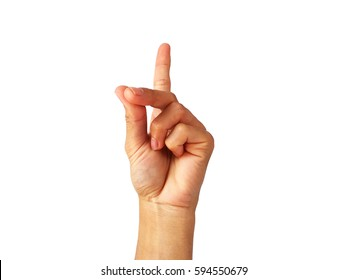 "show Hand is a symbol that ""Snap"" on a white background.Which is the Asian male hand.Skin color is off-white to dark red.The shape of the hand is strong.This is a healthy Asian guy."