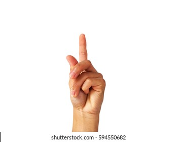 """show Hand is a symbol that """"Snap"""" on a white background."""