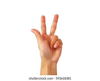"show Hand is a symbol that ""Three-finger salute (Serbian)"" on a white background."