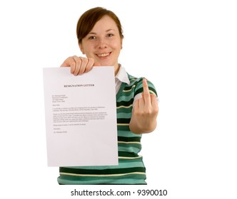 show off to your ex employer, change Your job, quit, resign