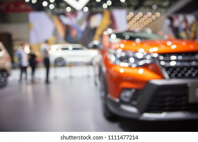 Show vehicle at auto show