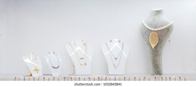Showcase jewelry store