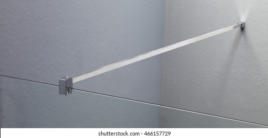 shower bulkhead Handle white background cutout pathed