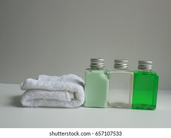 Body Lotion Shower Gel Massage Oil Stock Photo (Edit Now) 665205616