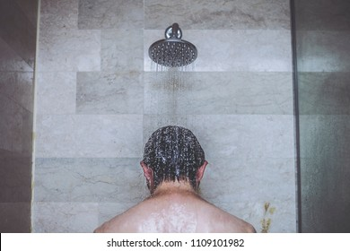 Shower and men
