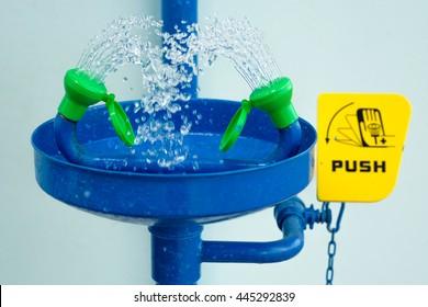 Showers eye wash