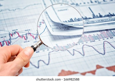 Showing financial report