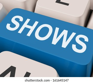 Shows Key Meaning Musicals Entertainment Or Theater