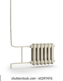 It shows a radiator