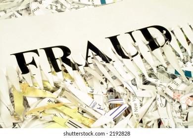 Shredded Document Fraud