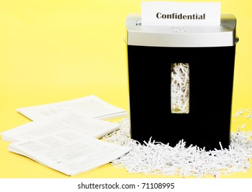 Shredded documents for personal security