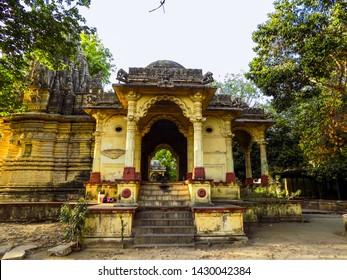 Shri Kubereshwar Datta( Lord Dattatreya) of Vadodara. Datta temple was made in compound of kirti mandir and temple was named Kubereshwar datt mandir in 1954.