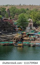 Shri Mamleshwar  Jyotirling or Mamleshwar Temple bank of Narmada River (jyoti is  Ligh) Madhya Pradesh INDIA