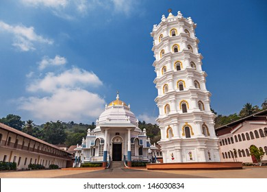 Shri Mangeshi temple - one of the most important in Goa