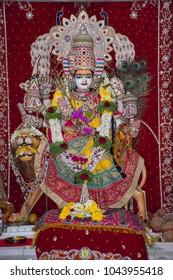 Shri Mata Vaishno Devi deity statue