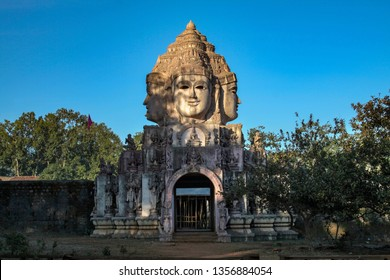 Shri yantra temple amarkantak, trimukhi temple.