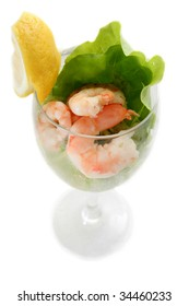 shrimp avocado coktail