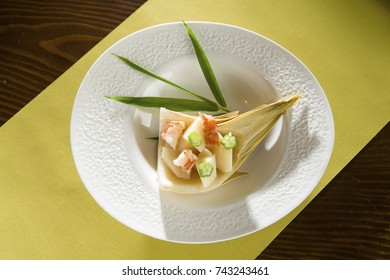 shrimp and bamboo shoots salad