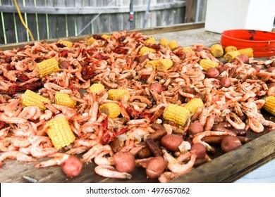 shrimp boil in Mobile Alabama