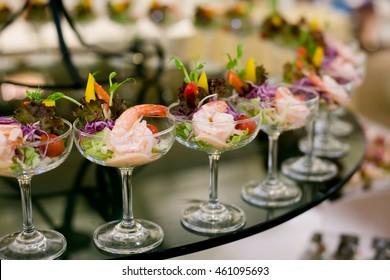 shrimp cocktail, prawn cocktail, appetizer