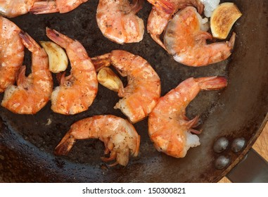 shrimp and garlic