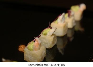 Shrimp Guacamole Fritter
