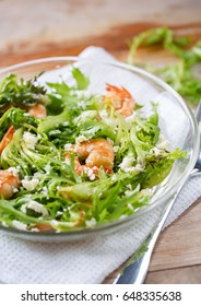 shrimp salad with cheese for diet