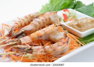 Shrimp Satay