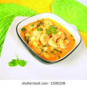 Shrimp soup called bobo