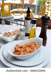 shrimps gourmet spanish style