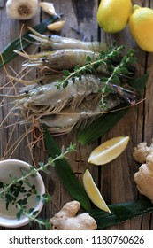 shrimps with lemon & garlic