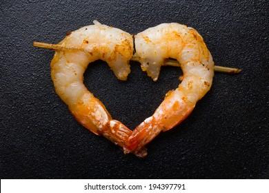 shrimps love