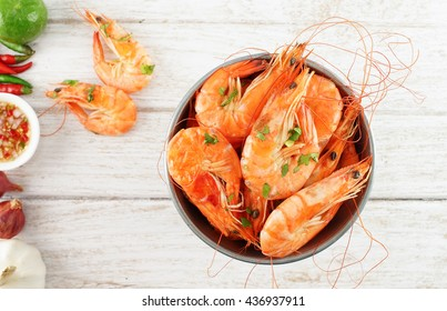 Shrimps in the zinc bucket