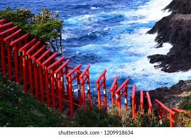 The shrine by the ocean