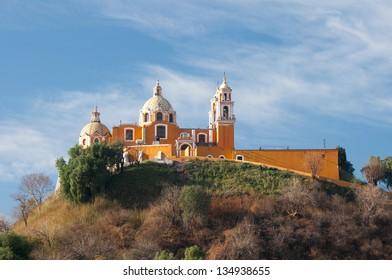 Shrine of Remedies , Cholula, Puebla (Mexico)