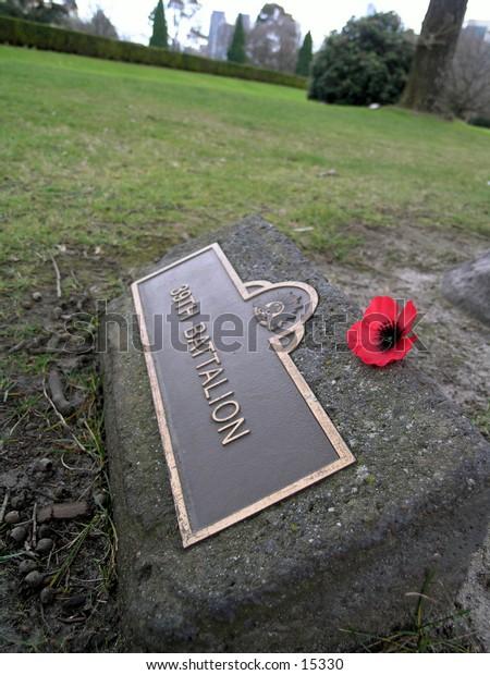 Shrine of rememberance grounds, Melbourne, Australia.