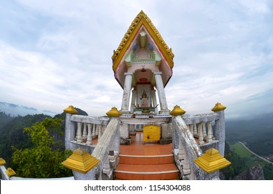 Shrine at the top of the Wat Tham Sua in Krabi