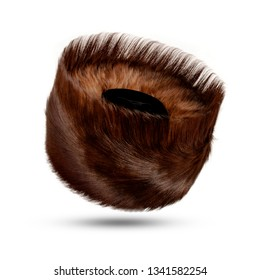 Shtreimel - Hasidic Fur Hat - Isolated