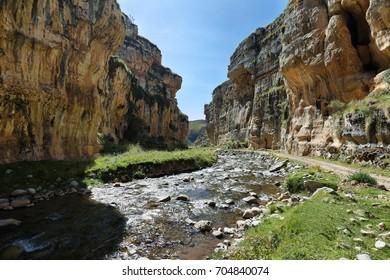 """Shucto Gorge in """"Reserva paisajística Nor Yauyos-Cochas"""", Peru"""
