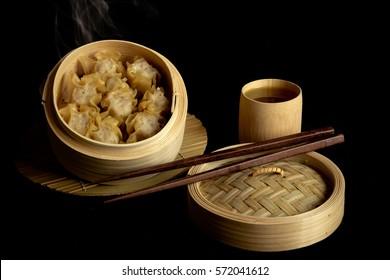 Shumai chinese food.