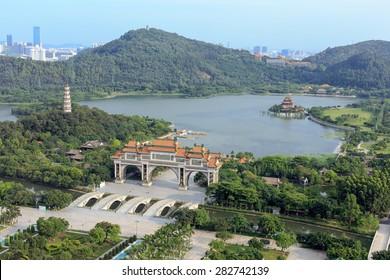 Shun Feng Shan Park in Shunde