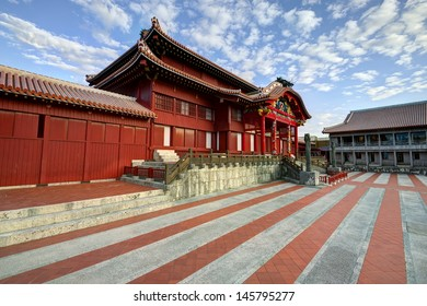 Shuri Castle in Okinawa, Japan.