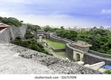Shuri Castle Park, Naha, Okinawa, Japan
